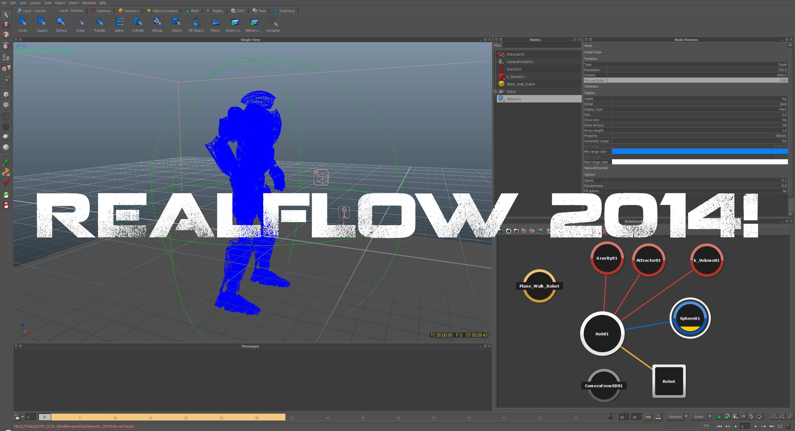We got Realflow!